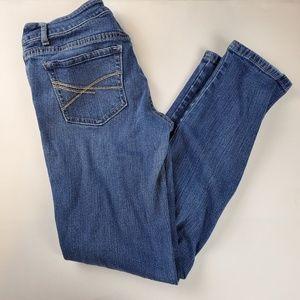 Aeropostale Bayla Skinny 9/10 Short Jeans